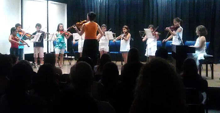 Audición violín