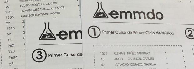 Listado definitivo de admitid@s en Talleres de Música, Danza y Flamenco.