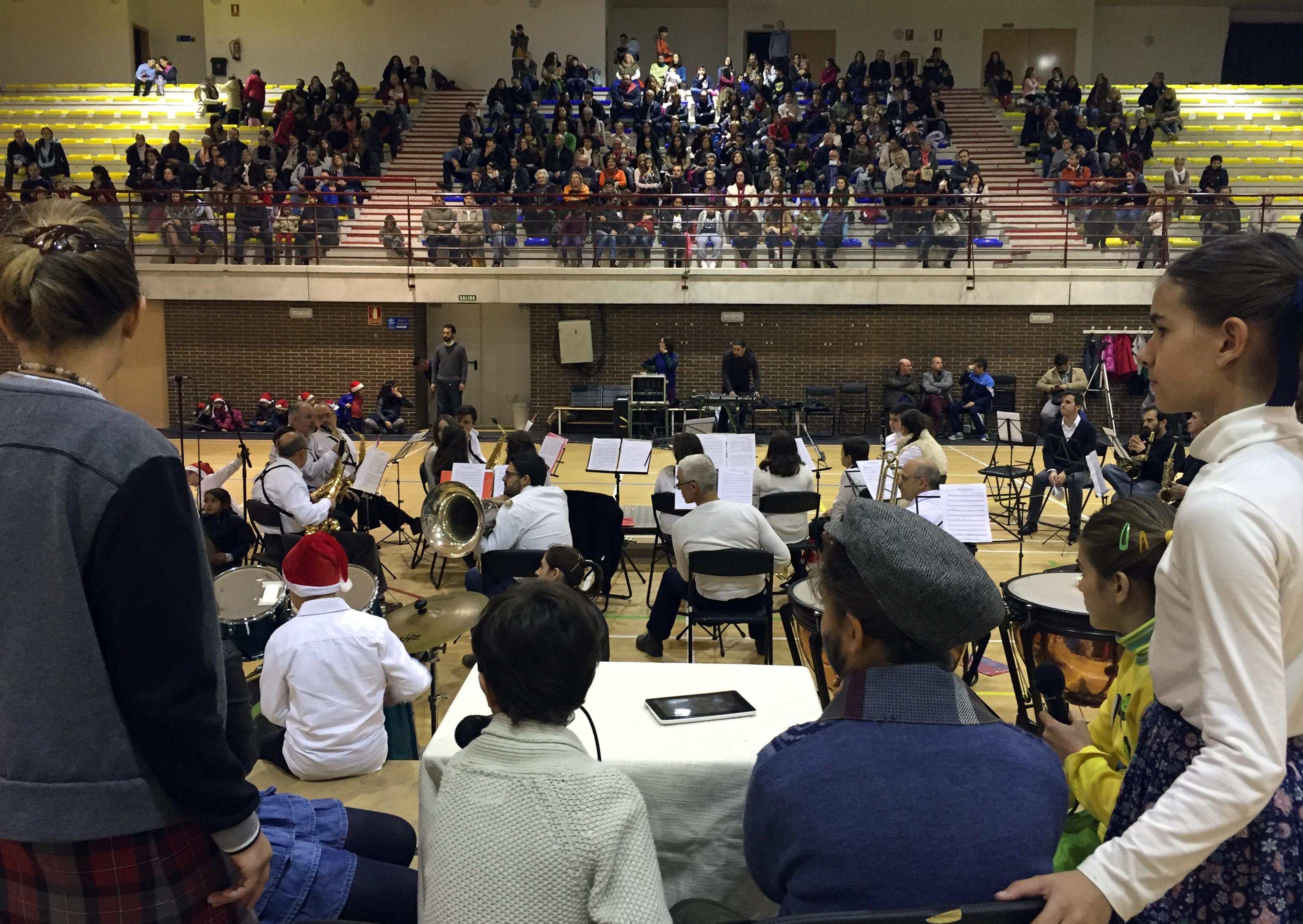 El Musical de Navidad contó con 200 asistentes
