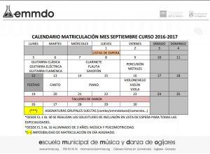 Calendario septiembre Emmdo