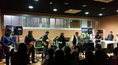 Gran actuación del Combo Rock anoche