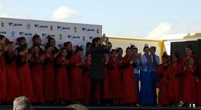 Brillante sesión del taller flamenco el Día de Andalucía