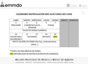 Microsoft Word - MATRICULA JULIO
