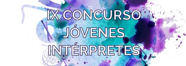 FINALISTAS Concurso Jóvenes Intérpretes 2017