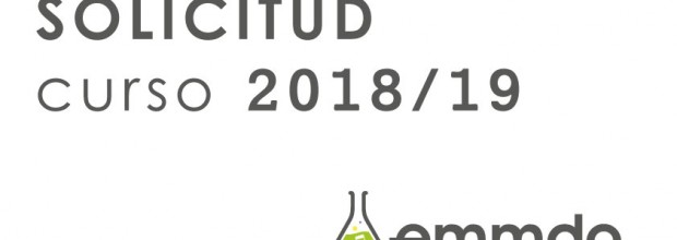 Plazos detallados del proceso de solicitud para el curso 2018-19