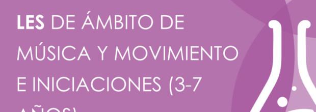Listados provisionales de ámbito de música y movimiento e iniciaciones (3-7 años)